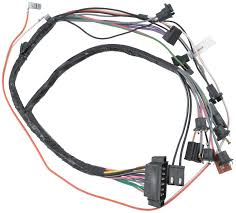 1968 camaro parts electrical and wiring wiring and connectors 1968 camaro automatic transmission console gauges wiring harness