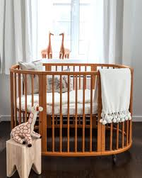 corner baby cribs nursery let your sleep in comfort circular circle  bassinet bedding posh . corner baby cribs ...