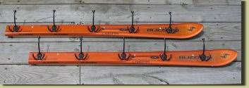 Vintage Ski Coat Rack Coat Racks from Recycled Skis to Hang your Gear 27