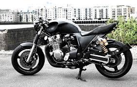 yamaha xjr1300 dark roadster by wisdom