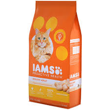 Cat Food Carbohydrate Chart Healthy Adult Chicken Cat Food Iams