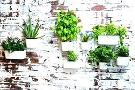 hanging herb planters large hanging herb pots outdoor wall planter indoor modern planters unique rectangular and