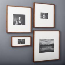 modern picture frames. Perfect Picture Gallery Walnut Picture Frames CB2 Alive Modern Photo Quality 0 With I
