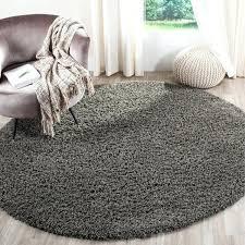 safavieh athens dark grey rug 6 7 x 6 7 round on round gray plaid round gray area rug