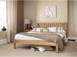 Oak Bedroom Furniture Allerton Oak King Size Bed Frame Oak City