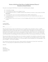 Sample Letter To Landlord To Terminate Lease Early Early Lease Termination Letter From Landlord Vatoz Atozdevelopment