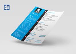 013 Modern Cv Template Word Free Download Microsoft Resume