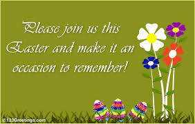 An Easter Invite Free Invitations Ecards Greeting Cards