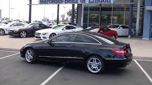 With that amount of options, the exterior varies between each model. Mercedes Benz 2013 E350 Coupe All Wheel Drive Df193877t Youtube