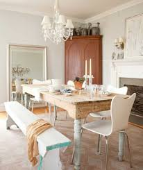 antique dining room farm tables with bench also modern arm dining chair and white shade chandelier