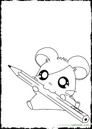 Cute Hamster Free Coloring Pages On Art Coloring Pages