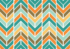 Colorful Patterns Inspiration Colorful Funky Chevron Pattern Vector Download Free Vector Art