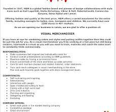 40 Retail Merchandiser Resume Inspiration Visual Merchandiser Resume