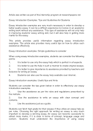 introduction essay examples sample self introduction speech view larger