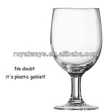 newest design high quality reusable plastic wine glass bpa free wp 3791