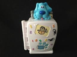 blues clues mr salt and mrs pepper. $14.00 Blues Clues Fridge Fun Teaching Toy-Blue, Mr. Salt And Mrs. Pepper Ask Questions, Sing Catchy Tunes Wait For Your Response With A Push Of The Mr Mrs E