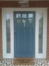 Wythe Blue Exterior Front Door Color Clean And Bright - High end exterior doors
