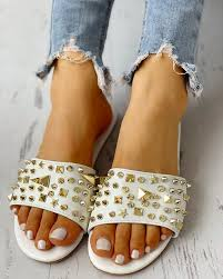 Купить Rivet Design Casual Flat Sandals в каталоге интернет ...