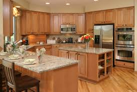 U Shaped Kitchen Kitchen Pleasant Design For U Shaped Kitchen Remodel With White