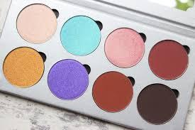 makeup addiction flaming love palette swatches dark skin nataliekayo discoveriesofself anastasia beverly hills self made palette