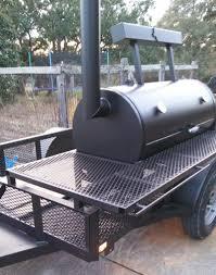 Bbq Smoker Design Plans 2454 Trailer Pit 3 Custom Bbq Pits Bbq Smoker Trailer