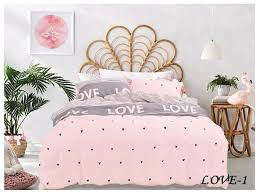 <b>Постельное белье</b> 2-спальное Jardin <b>Love</b>-1_3820 сатин ...