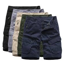 Mens Designer Cargo Shorts Sale 2019 2019 Mens Cargo Shorts Summer Army Green Cotton Shorts Men Loose Multi Pocket Homme Casual Bermuda Trousers From Sideceam 36 95 Dhgate Com