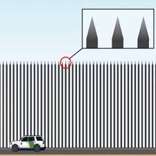 Border Wall Design Concepts Trumps Steel Slat Barrier For Mexican Border Lampooned By