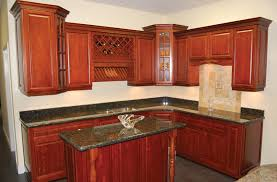 Amazing Kitchen Cabinets, Amusing Dark Red Square Rustic Ceramics Wholesale Cabinets  Ornamental Laminated Kitchen Cabinets Design