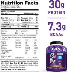 nutritional facts and ings formulation