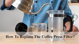 when to replace the french press filter