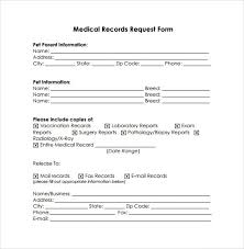 Request For Medical Records Form Template Medical Records Request Template Magdalene Project Org