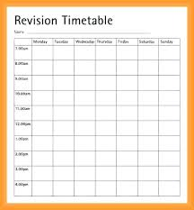 Microsoft Word Schedule Templates Plan Milf Porn Revision Timetable Template Microsoft Word Schedule