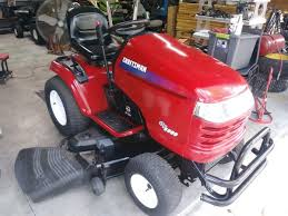 craftsman gt 5000 riding lawn mower for