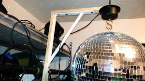 diy lighting truss. Dj Tip Diy Mirrorball Mount For I Beam Truss Youtube Lighting M