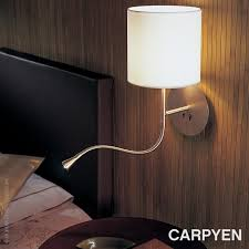bedside wall lamps swing arm wall lights reading