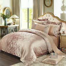 2017 spring summer bedding set pure cotton satin jacquard duvet cover sets quilt cover bed sheet pillowcase full queen king best duvet set bedding