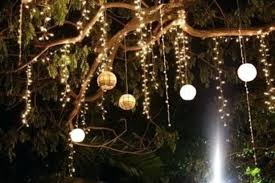Decorating Outside Tree With Lights 52 Best Garden Decorate With Some Diy Hanging Lights