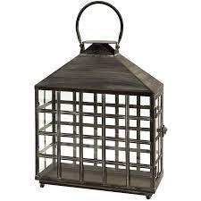 regent lattice window wide candle