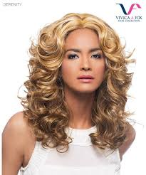 Vivica Fox Wig Color Chart Vivica Fox Lace Front Wig Serenity Synthetic Pure Stretch Cap Lace Front Wig