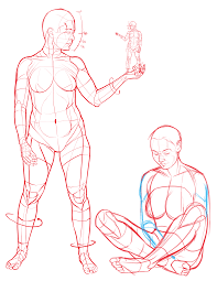 Pose Reference One Of The Figure Drawing References From My Poses