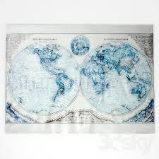 hemisphere grand canvas wall tapestry rh baby