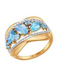 Купить ювелирные <b>кольца с топазом</b> в интернет магазине ...