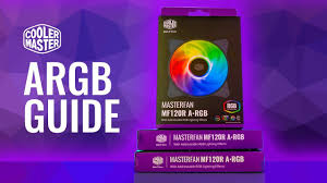 HOWTO <b>Cooler Master</b> A-RGB Setup and Install Guide - <b>MF120R</b> ...