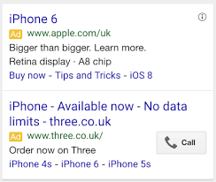 apple the mobile customer journey from search to checkout neither provides the most persuasive ad i ve ever seen but both have realised that brevity is the key to mobile search however in apple s ad i m not