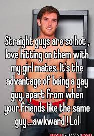 Straight guy gay girl