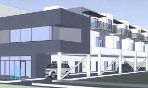 Image Townhouse Two Storey Midtown Development Plans Office Retail Living Space On 37footwide Lot Newsok Midtown Development Plans Office Retail Living Space On 37foot