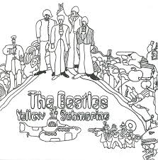 Beatles Yellow Submarine Coloring Pages Crafts Coloring Pages