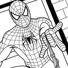 Spiderman Coloring Pages Venom