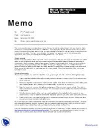 Sample Of Memos Memo Sample Communication In Business Lecture Handout Docsity